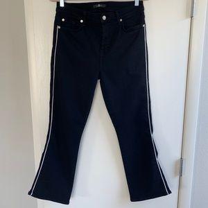 7 For All Mankind High Waist Slim Kick Jeans